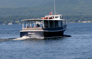 The Escape on Lake Champlain